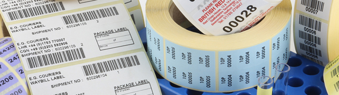 Barcode & Numbered Labels
