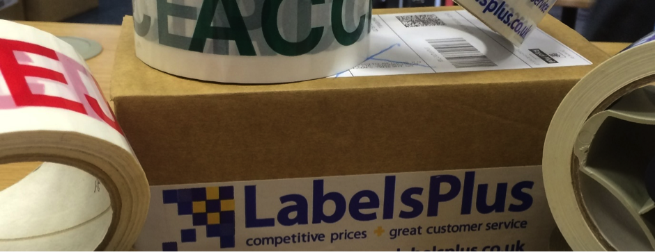Printed Packaging Tape from LabelsPlus
